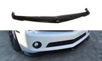 Maxton Design Spoiler předního nárazníku Chevrolet Camaro SS Mk5 US verze - černý lesklý lak