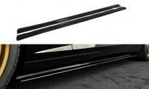 Maxton Design Prahové lišty Chevrolet Camaro SS Mk5 US/EU verze - černý lesklý lak
