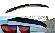 Maxton Design Lišta víka kufru Chevrolet Camaro SS Mk5 US verze - černý lesklý lak
