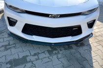 Maxton Design Spoiler předního nárazníku Chevrolet Camaro SS Mk6 V.2 - texturovaný plast