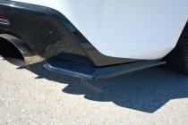 Maxton Design Boční lišty zadního nárazníku Chevrolet Camaro SS Mk6 - texturovaný plast