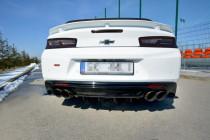 Maxton Design Spoiler zadního nárazníku Chevrolet Camaro SS Mk6 - karbon