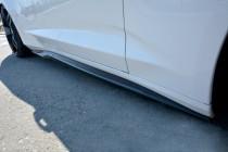Maxton Design Prahové lišty Chevrolet Camaro SS Mk6 - černý lesklý lak