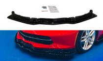 Maxton Design Spoiler předního nárazníku Chevrolet Corvette C7 - černý lesklý lak