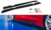 Maxton Design Prahové lišty Chevrolet Corvette C7 - texturovaný plast