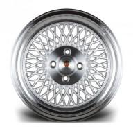 Stuttgart Wheels ST1 15x8 ET25 4x100 alu kola - stříbrné