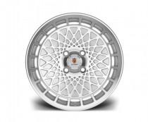 Stuttgart Wheels ST7 15x8 ET25 4x100 alu kola - stříbrné