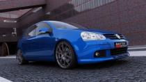 Maxton Design Spoiler předního nárazníku Votex VW Golf V