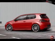 Maxton Design Prahové lišty XR VW Golf VI