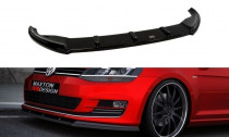 Maxton Design Spoiler předního nárazníku VW Golf VII V.1 - texturovaný plast