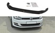 Maxton Design Spoiler předního nárazníku VW Golf VII V.2 - texturovaný plast