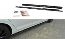 Maxton Design Prahové lišty VW Golf VII - texturovaný plast