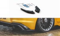 Maxton Design Boční lišty zadního nárazníku VW Golf VIII - texturovaný plast