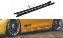 Maxton Design Prahové lišty VW Golf VIII V.2 - texturovaný plast