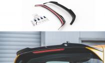 Maxton Design Nástavec střešního spoileru VW Golf VIII V.2 - černý lesklý lak