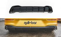 Maxton Design Spoiler zadního nárazníku VW Golf VIII - texturovaný plast
