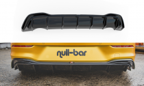 Maxton Design Spoiler zadního nárazníku VW Golf VIII - černý lesklý lak