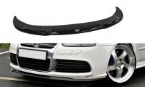 Maxton Design Spoiler předního nárazníku VW Golf V R32 - černý lesklý lak