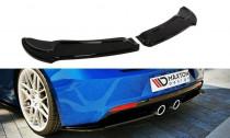 Maxton Design Spoiler zadního nárazníku VW Golf VI R - černý lesklý lak