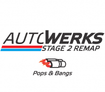 Autowerks Remap Stage 2 Pops and Bangs úprava řídící jednotky chiptuning Mercedes Benz A 45 AMG W176 2,0T