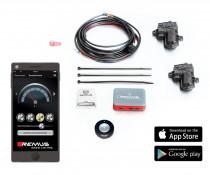 Ovládací mechanismus pro ovládání klapkek výfuku - spojení s mobilní aplikací REMUS