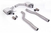 Klapkový Pipe-back výfuk AUDI RS Q8 4.0 TFSI V8 OPF/GPF Milltek Sport