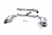 Catback výfuk VW Golf 7 R Variant 2.0 TSI 300 OPF/GPF Milltek Sport - bez rezonátoru / leštěné koncovky