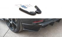 Maxton Design Boční lišty zadního nárazníku Audi RS3 8V Sportback Facelift V.2 - texturovaný plast