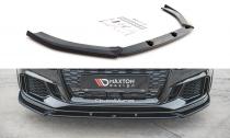 Maxton Design Spoiler předního nárazníku Audi RS3 8V Facelift V.4 - texturovaný plast