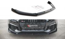 Maxton Design Spoiler předního nárazníku Audi RS3 8V Facelift V.3 - texturovaný plast