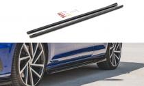 Maxton Design Prahové lišty VW Golf R Mk7 Facelift V.4 - texturovaný plast