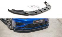 Maxton Design Spoiler předního nárazníku VW Golf R Mk7 Facelift V.9 - texturovaný plast