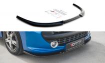 Maxton Design Spoiler předního nárazníku Peugeot 207 Sport - texturovaný plast