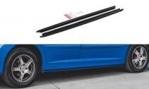 Maxton Design Prahové lišty Peugeot 207 Sport - texturovaný plast
