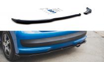 Maxton Design Spoiler zadního nárazníku Peugeot 207 Sport - texturovaný plast