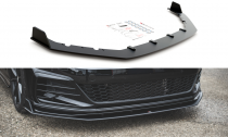 Maxton Design Spoiler předního nárazníku Racing VW Golf Mk7 GTI TCR - černá