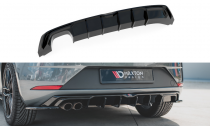 Maxton Design Spoiler zadního nárazníku Seat Leon Mk3 FR Facelift - texturovaný plast