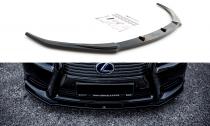 Maxton Design Spoiler předního nárazníku Lexus LS Mk4 Facelift - texturovaný plast