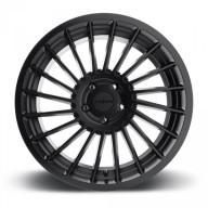 Rotiform IND-T R126 20x8.5 ET35 5x112 alu kola - Černé s broušeným čelem