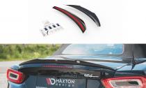 Maxton Design Nástavec spoileru víka kufru Fiat 124 Spider Abarth - texturovaný plast