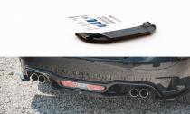 Maxton Design Spoiler zadního nárazníku Fiat 124 Spider Abarth - texturovaný plast