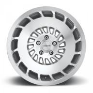 Rotiform CCV R135 18x8,5 ET35 5x100 alu kola - Stříbrné s broušeným čelem