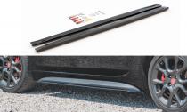 Maxton Design Prahové lišty Fiat 124 Spider Abarth - texturovaný plast