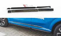 Maxton Design Prahové lišty Ford Puma ST-Line - texturovaný plast