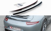 Maxton Design Lišta zadní kapoty Porsche 911 Carrera (991.1) - černý lesklý lak