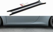Maxton Design Prahové lišty Porsche 911 Carrera (991.1) - černý lesklý lak