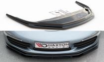 Maxton Design Spoiler předního nárazníku Porsche 911 Carrera (991.1) V.2 - černý lesklý lak