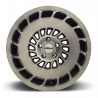 Rotiform CCV R136 20x8.5 ET35 5x120 alu kola - Černé s broušeným čelem