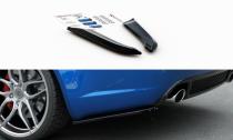 Maxton Design Boční lišty zadního nárazníku Audi RS4 (B7) Sedan V.1 - texturovaný plast