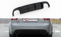 Maxton Design Spoiler zadního nárazníku Audi RS4 (B7) - texturovaný plast